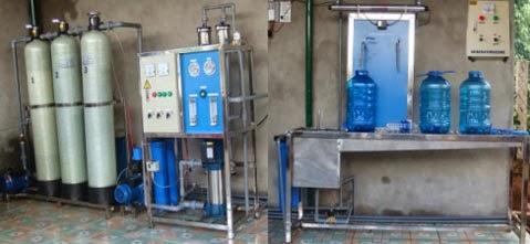 Máy, thiết bị lọc nước