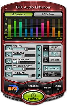 DFX tăng chất lượng âm thanh trên windows