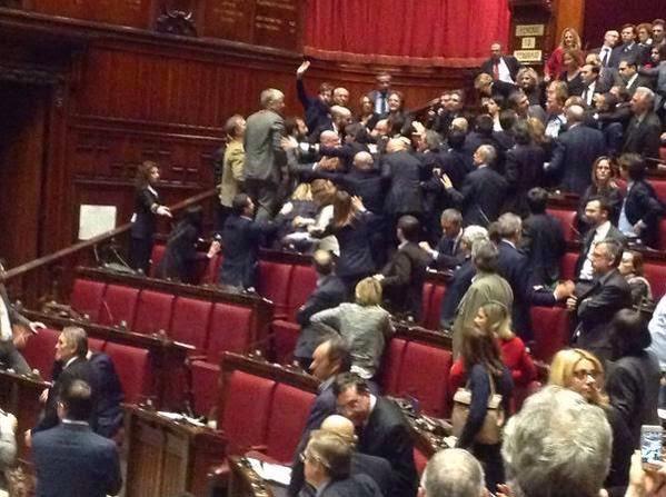 Rissa Camera dei Deputati