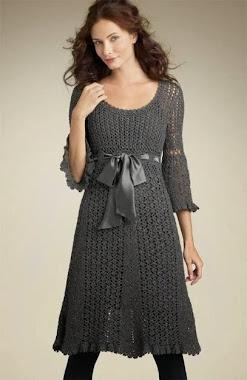 El vestido tejido