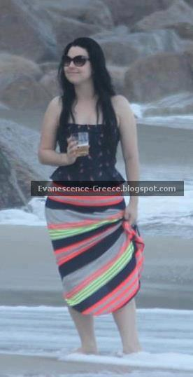 Amy Lee - Evanescence - Fallen - Beach