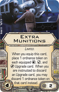 X-Wing wave 7 extra munitions