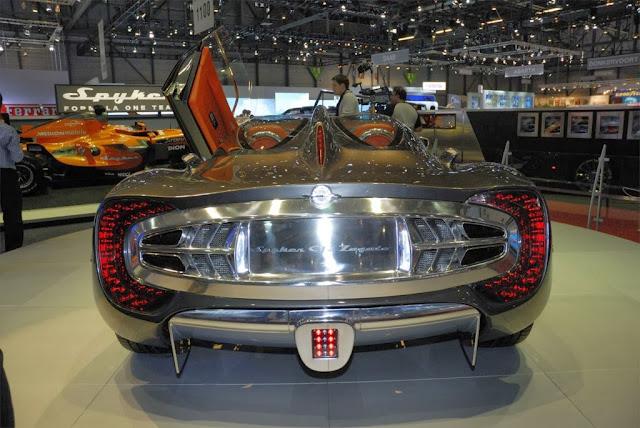 Spyker C12 Zagato Photos