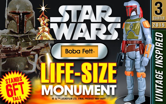 Boba Fett Star Wars Life Size Vintage Kenner 6' Statue by Gentle Giant