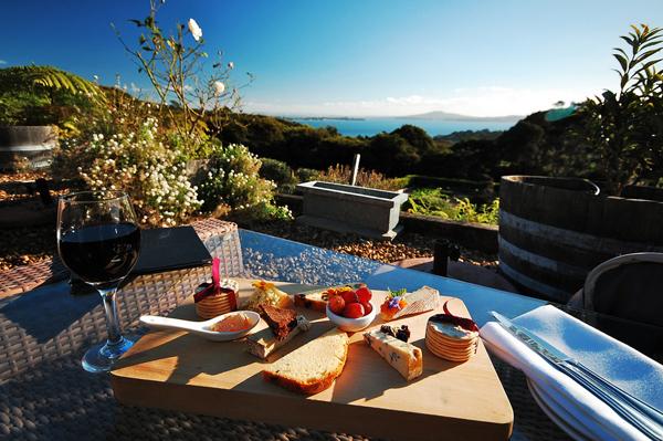 como preparar una tabla de quesos gourmet - tabla en el campo