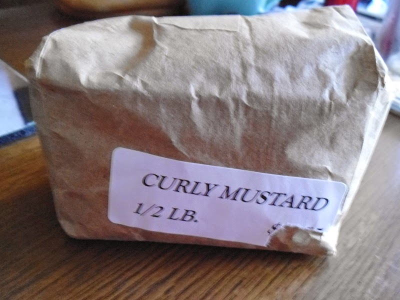 Half pound mustard seed