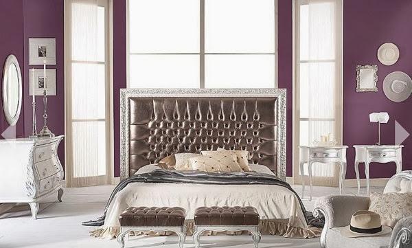 Decoration chambre couleur violet for Couleur violet pour chambre