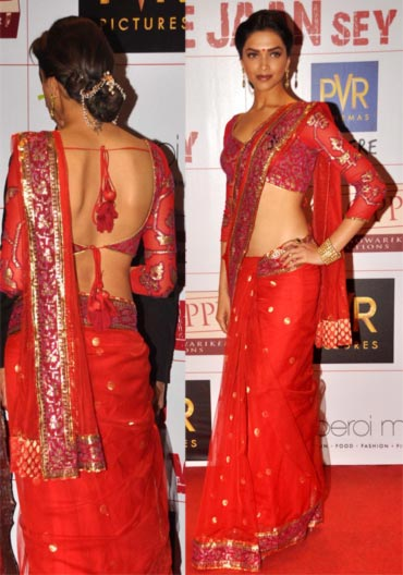 Actress in Red Saree Pic - Bollywood Actresses in Red Saree Pics