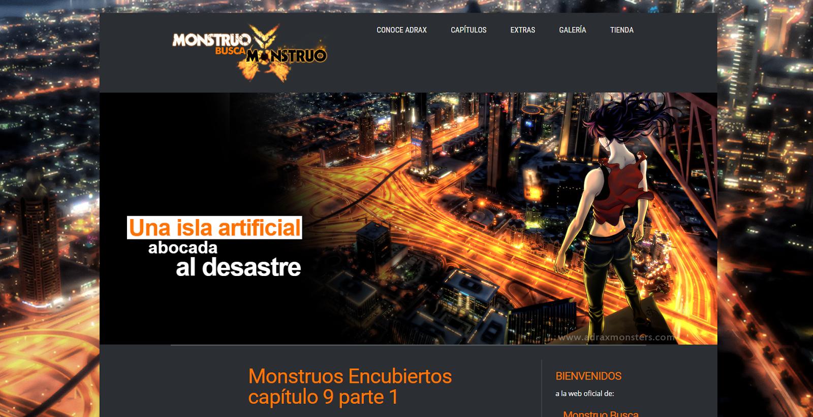 Captura de la pàgina web