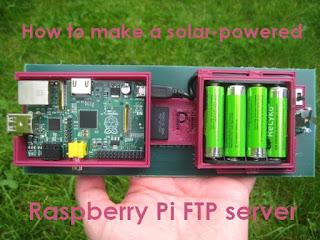 servidor FTP com Raspberry Pi