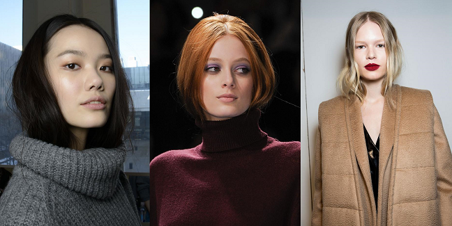 Tucked In Hair - Fall Trend