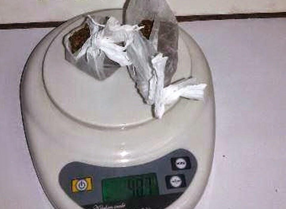 Detenido en Chile por llegar marihuana