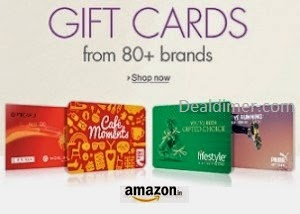 Gift Cards upto 50% off