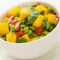 Weight Loss Recipes : Corn, Mango and Edamame Salad