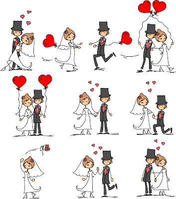 Convites de Casamento com Envelope para Imprimir