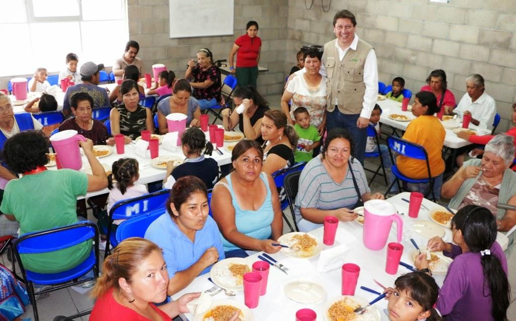 Sebideso pone en marcha comedor comunitario secretar a for Proyecto social comedor comunitario