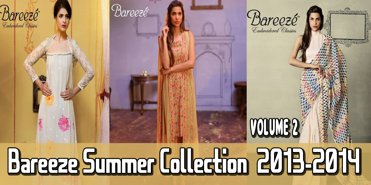 Bareeze Summer Volume 2 Collection 2013-2014