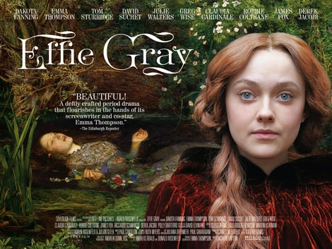 Info review Sinopsis Film Effie Gray (2015)