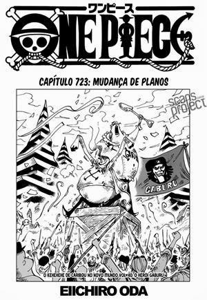 Mangá: One Piece Mangá 723 Português
