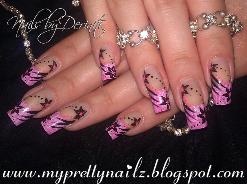 My Pretty Nailz: MASH NAILS REVIEW, FRENCH TIP NAIL ART DESIGN ...