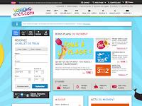 フランス国鉄SNCFのサイト