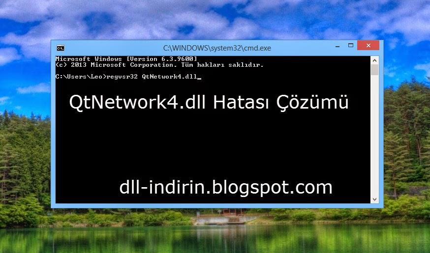 DLL İndir - DLL Hatası Çözümü: QtNetwork4.dll Hatası Çözümü