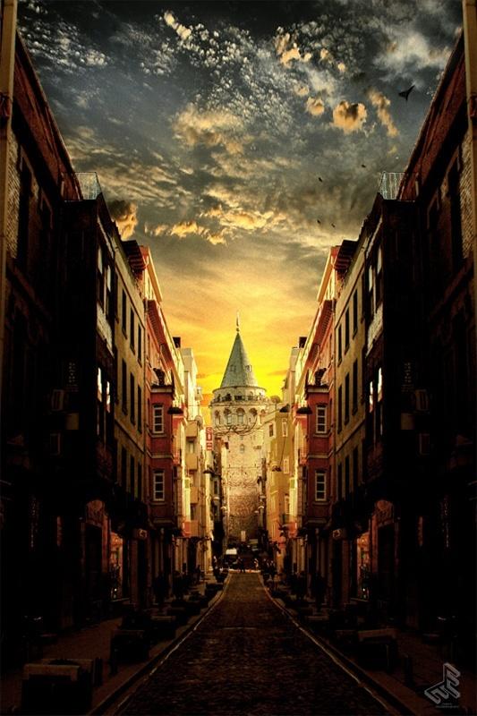 Galata Tower,Istanbul Turkey