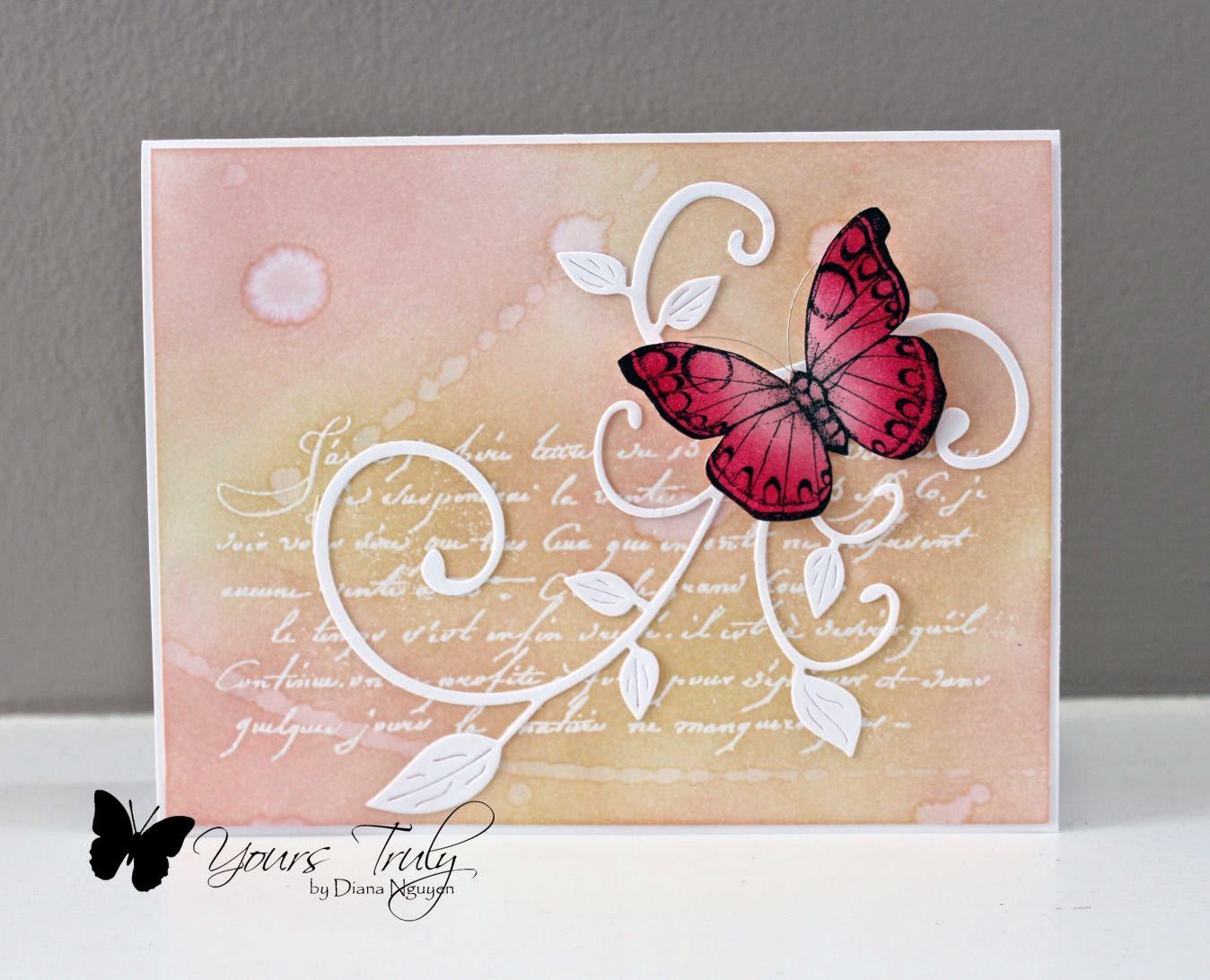 Diana Nguyen, Hero Arts, card
