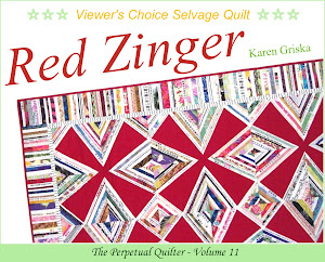 Red Zinger Selvage Quilt Pattern!