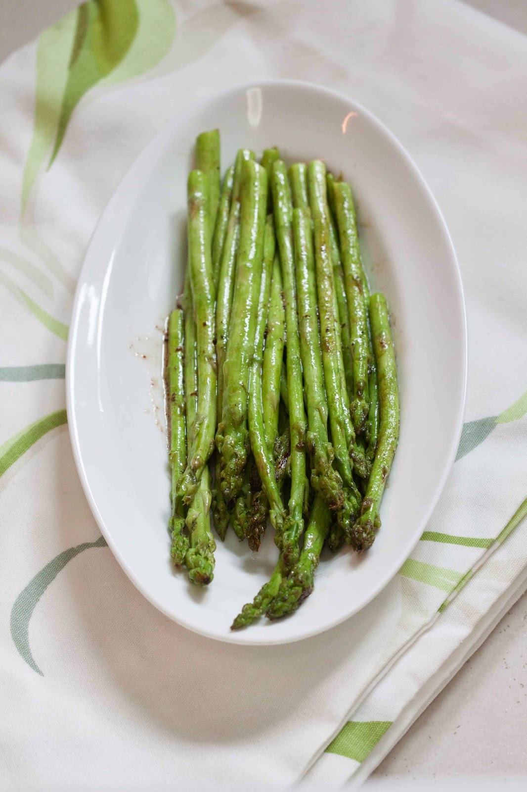 Would It Surprise You That I Ate This Whole Dish Of Asparagus For Lunch  Recently?