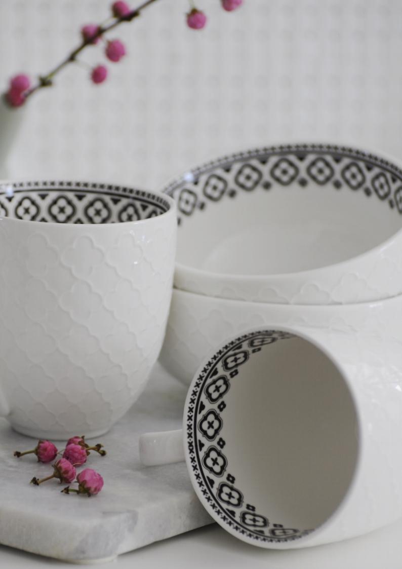 Porcelana black&white