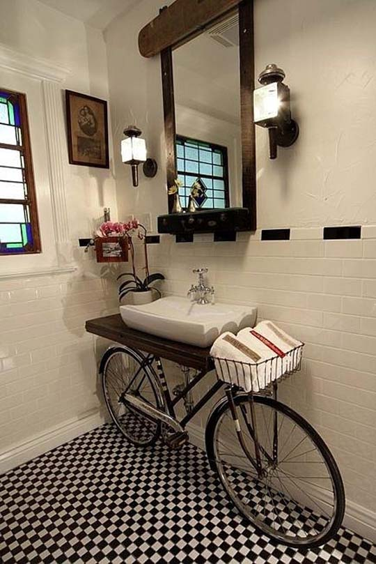 2013 Bathroom decorating ideas from Buzzfeed DIY