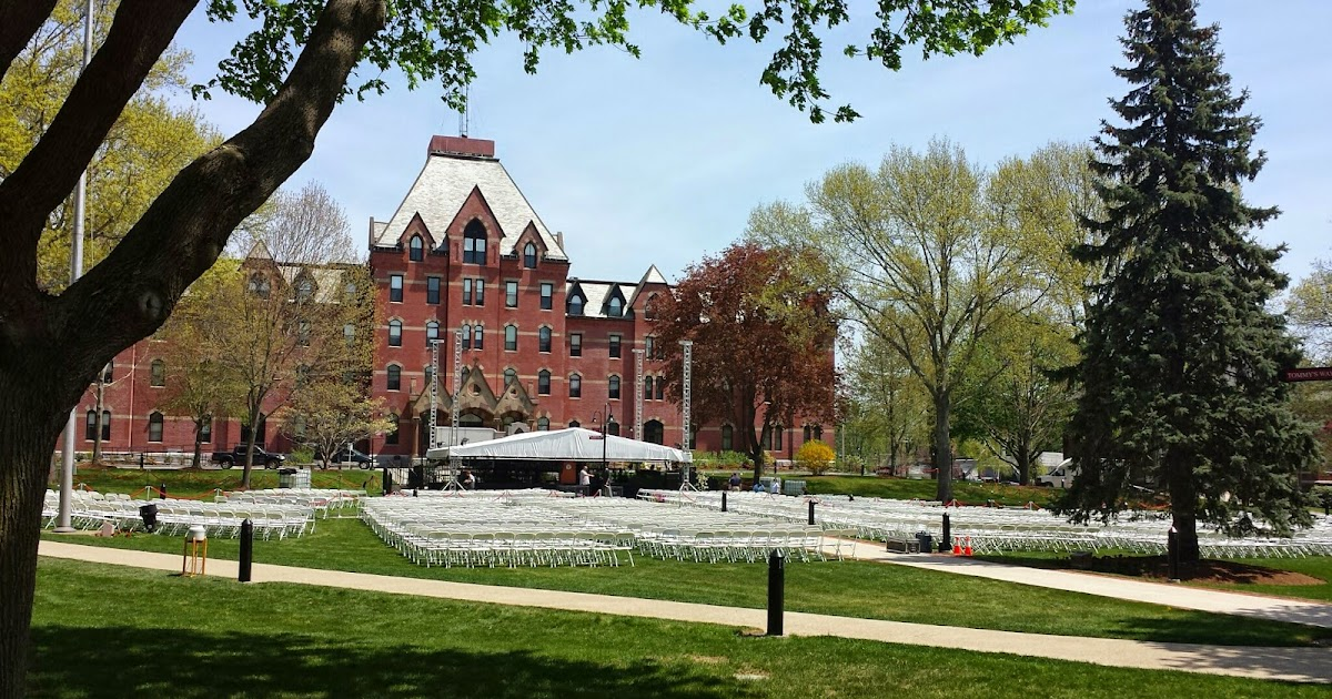 Calendar April July : Franklin matters dean college commencement may th
