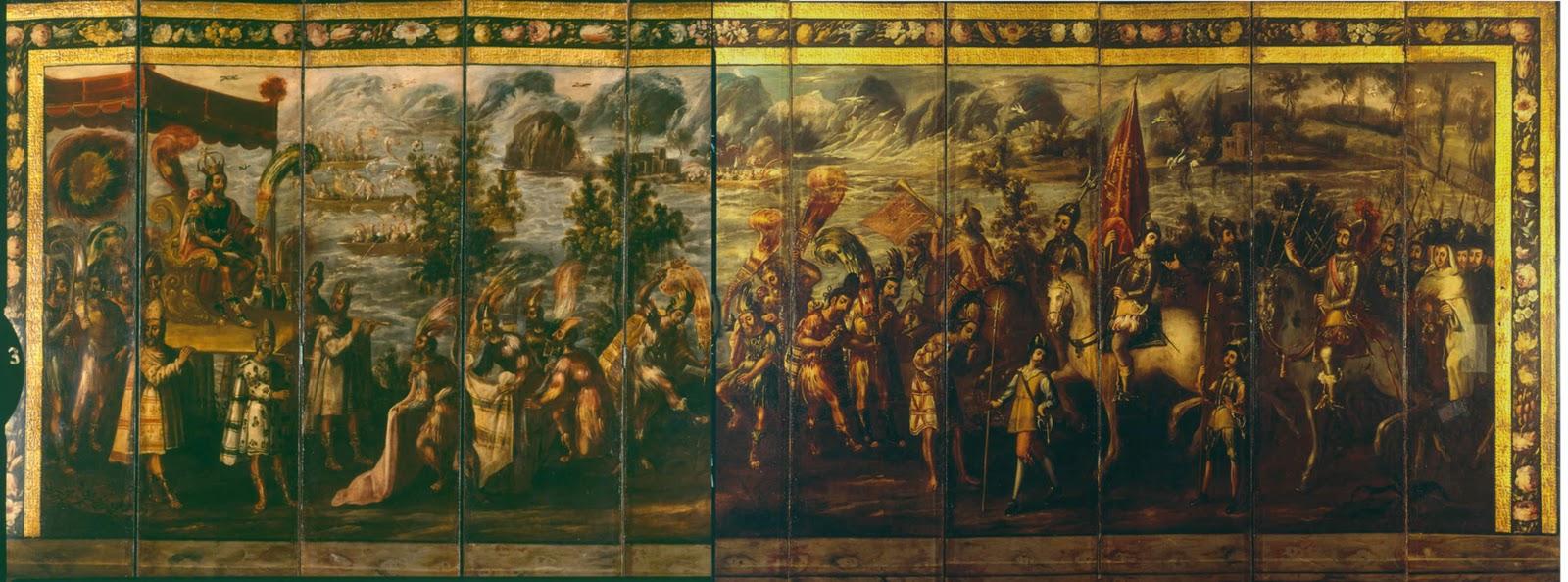 En la historioteca un historiador tras el biombo - Que es un biombo ...