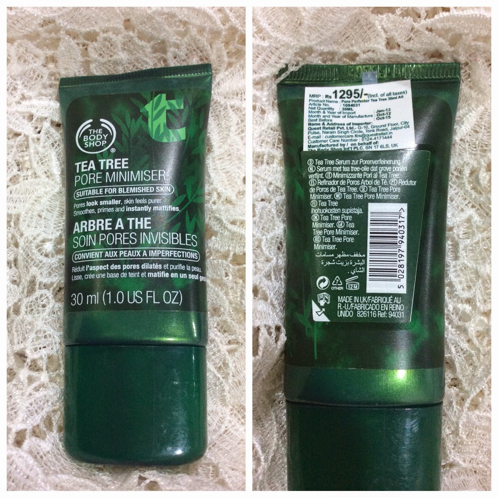 Blog Sale - The Body Shop Tea Tree Pore Minimiser