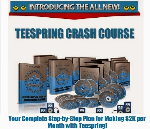 Start to make $2K per Month with Teespring FREE!