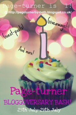 Page-turners 1st Bloggoversary!!