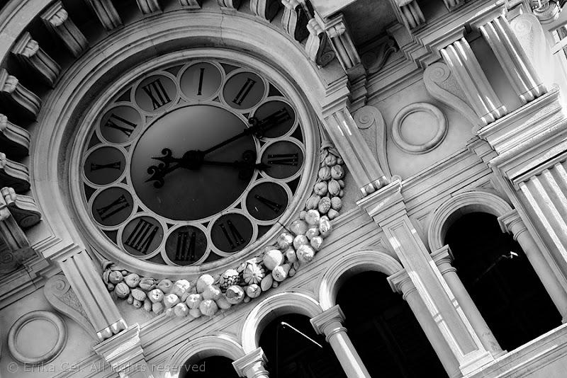 Orologio municipio Trieste eclettico
