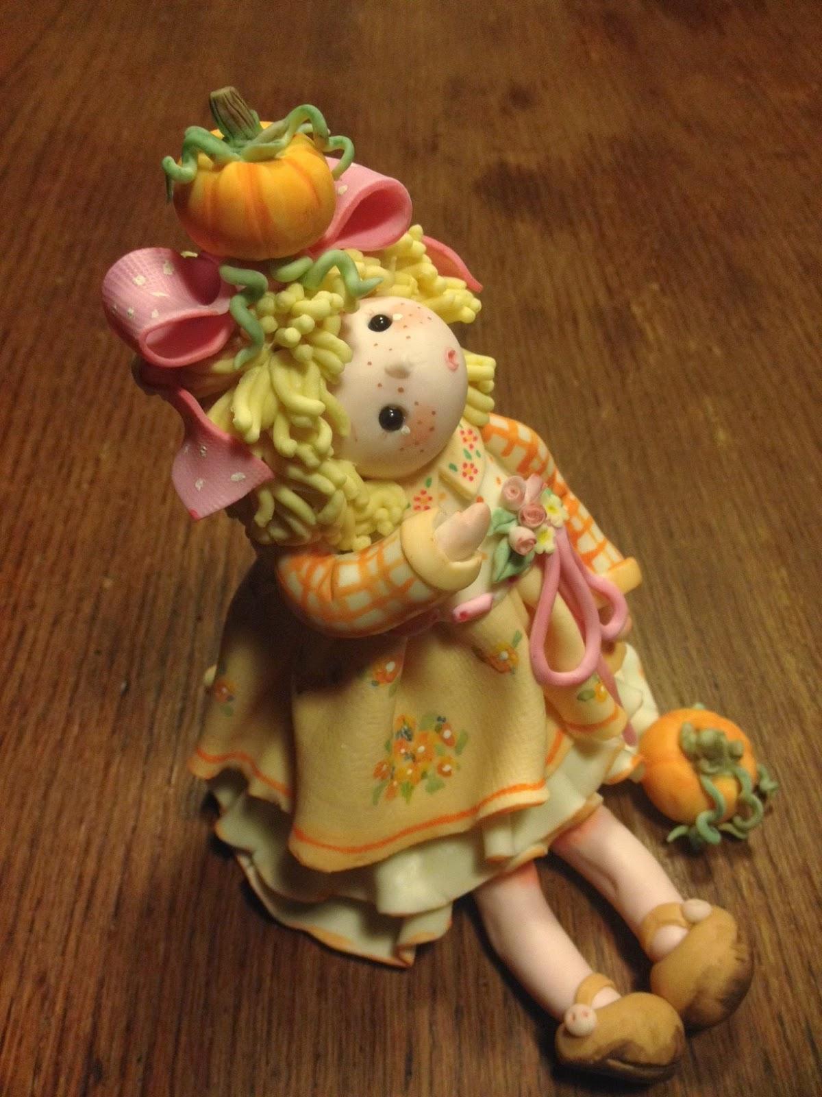 bambola di pasta di mais