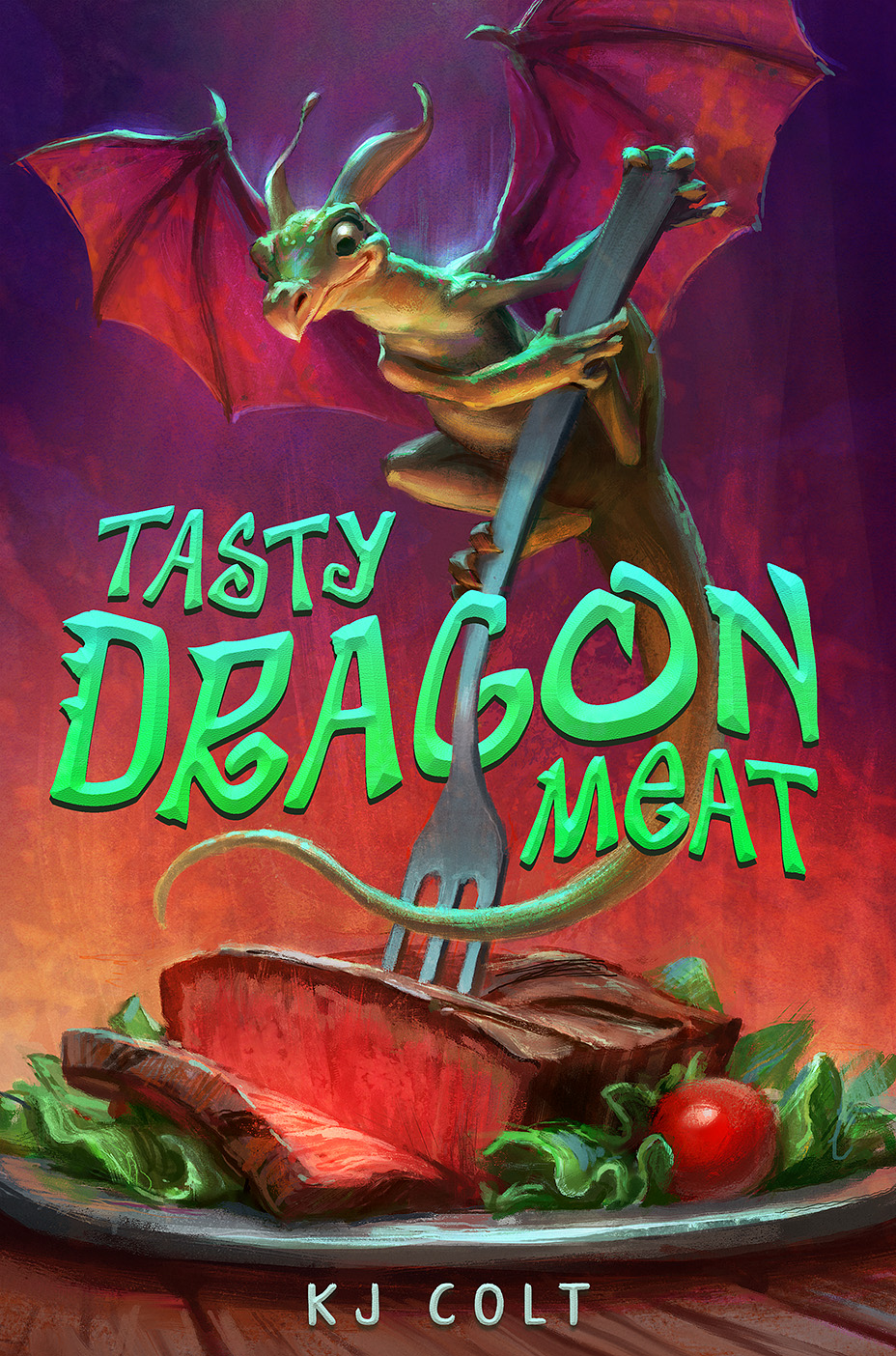 Tasty Dragon Meat by Lane Brown