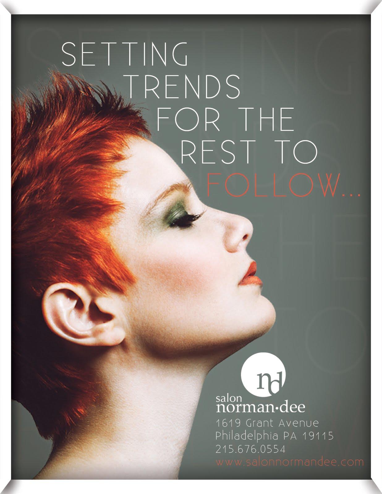 hair salon advertisement