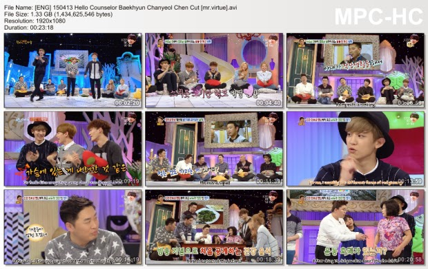 [ENG SUB] EXO on Hello Counselor