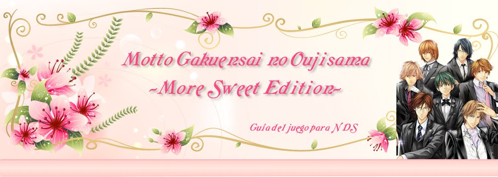 Motto Gakuensai no Oujisama ~More Sweet Edition~
