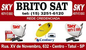 BRITO SAT CREDENCIADO SKY HD TV