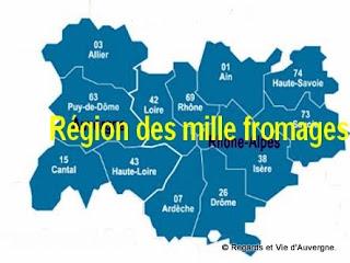 Région des mille fromages