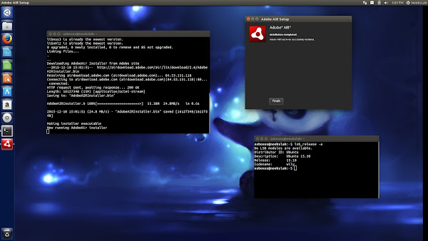 adobe air linux