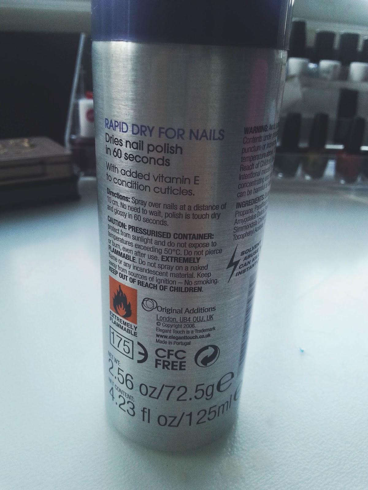 Elegant Touch Nail Spray