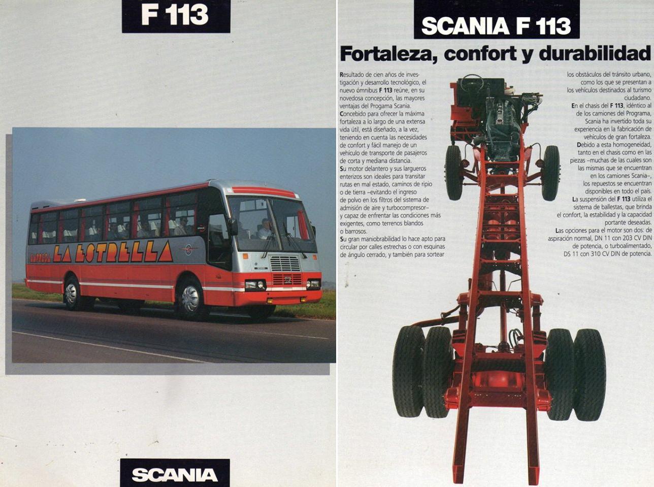 Scania F 113 Taringa