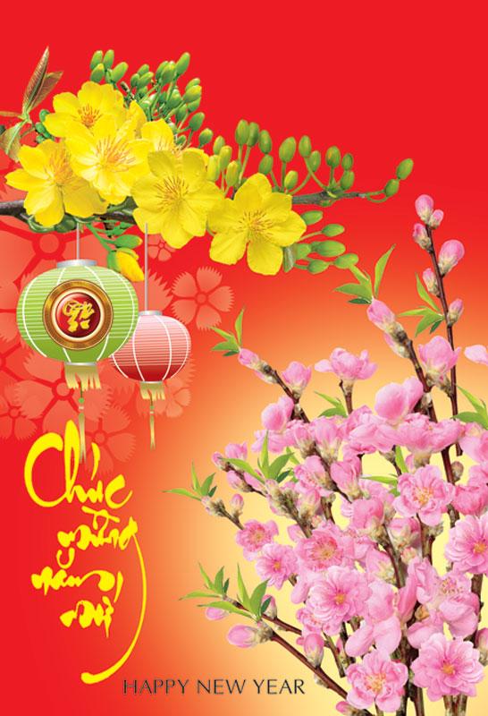 Thiệp chúc mừng năm mới đẹp và độc đáo - Hình ảnh 11