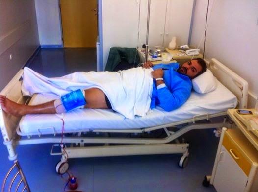 Εγχείρηση μηνίσκου για το Μιχάλη Πανταζή του Ν. Βότση